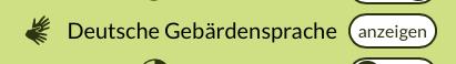 Screenshots des Buttons zu den Videos in Deutscher Gebärdensprache auf der Webseite www.stadt-inklusive.de