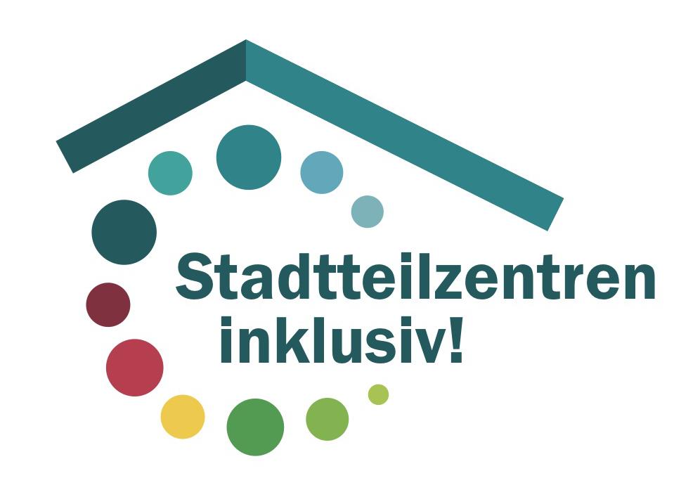 Logo von Stadtteilzentren inklusiv!